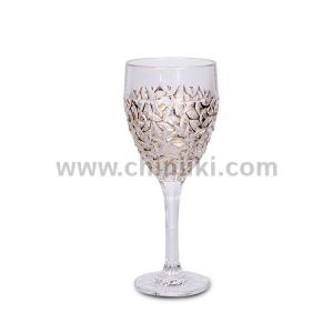 Nicolette Gold Marble кристални чаши за вино 320 мл, 6 броя, Bohemia Crystal