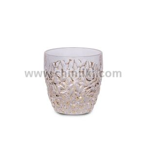 Nicolette Gold Marble кристални чаши за уиски 350 мл, 6 броя, Bohemia Crystal
